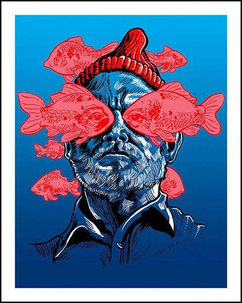 He is the Zissou (Life Aquatic) by Tim Doyle