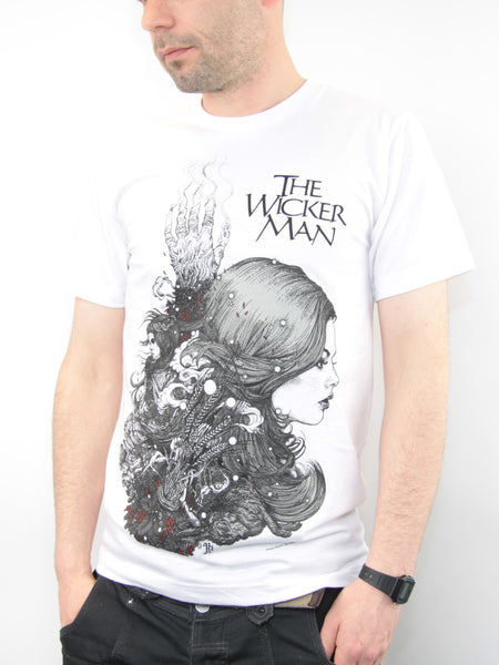 The Wicker Man 40th Anniversary Edition T-Shirt (White)