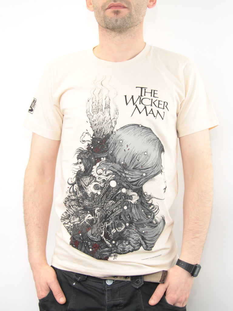 The Wicker Man 40th Anniversary Edition T-Shirt (Cream)