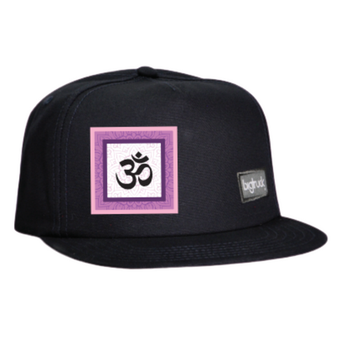 Cap Black Ohm Pink