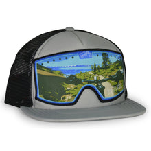 Load image into Gallery viewer, Original Goggle Grey Black Flat Flume Trail