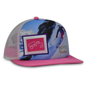 Original Flat Kids Sublimated Pink Winter  ski / ride favorite