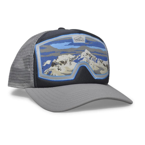 Original Goggle Grey Blue Alaska  ski / ride favorite