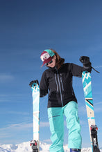 Load image into Gallery viewer, Original Goggle Palisades POV Maroon Mint ski / ride favorite