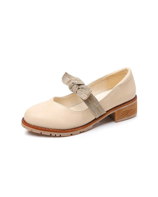 Noeud papillon Mary Jane Chaussures
