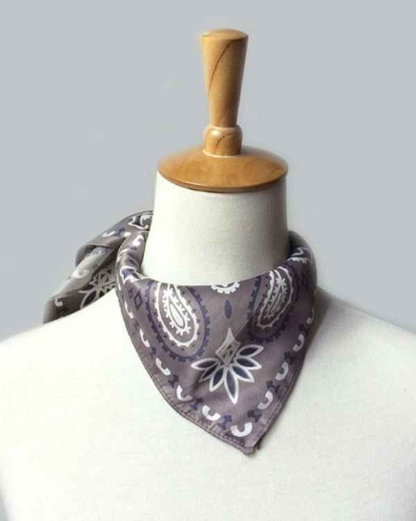 Paisley Print Face Bandana Magic Scarf Headwrap Cagoule