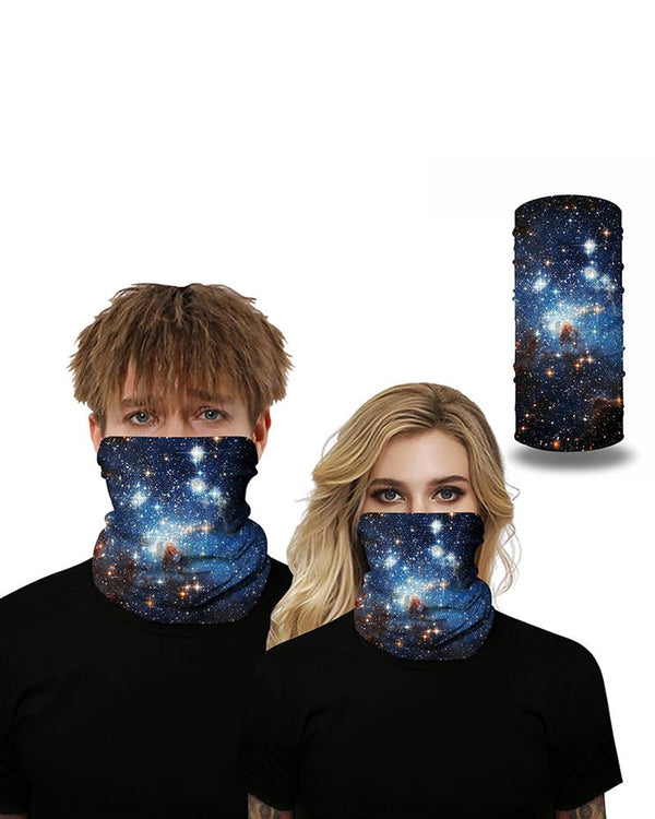 Galaxie respirante Face Bandana Magic Scarf Headwrap Balaclava
