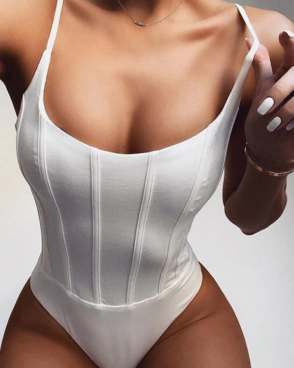 Body camisole coupe étroite