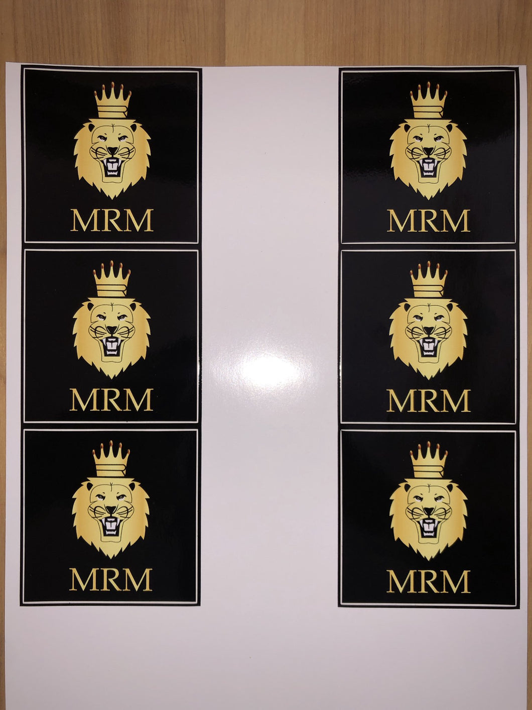 MRM Sticker