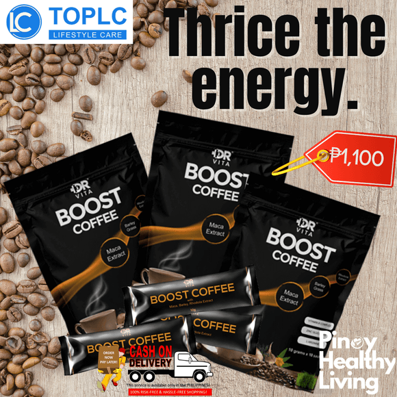 Dr. Vita Boost Coffee | 3 in 1 Maca Coffee