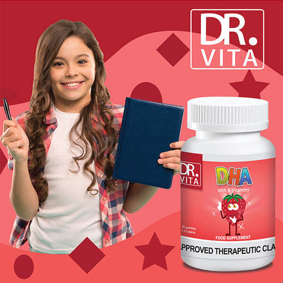 Dr. Vita DHA  | Memory Enhancer for Kids (30 Gummies)
