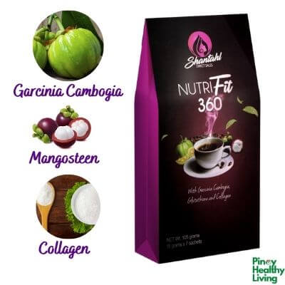 Shantahl Nutrifit 360 your Slimming and whitening Coffee in 1