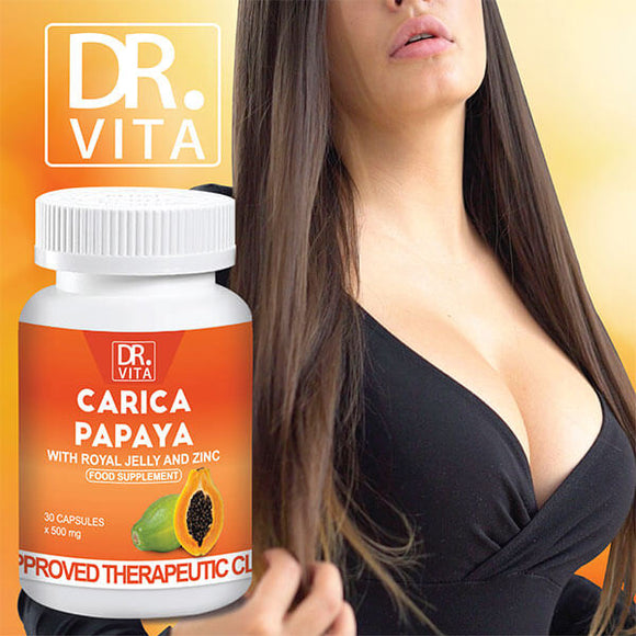 Dr. Vita Carica Papaya | Breast Enlargement (30 Capsules)