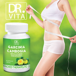 Dr. Vita Garcinia Cambogia | Suppressant & Fat Burner (30 Capsules)