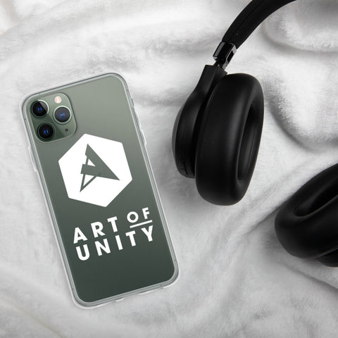 RAVEKLÄDER x Art of Unity | 'Art of Unity' Transparent iPhone Case