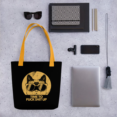 COSMO | Tote Bag Cat F*CK Sh*t up!