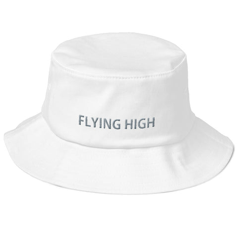 Old School Bucket Hat - Flying High - Ravekläder | Rave, Festival & Clubwear clothing