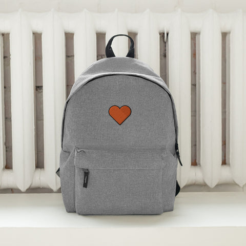COSMO | Orange Heart Backpack