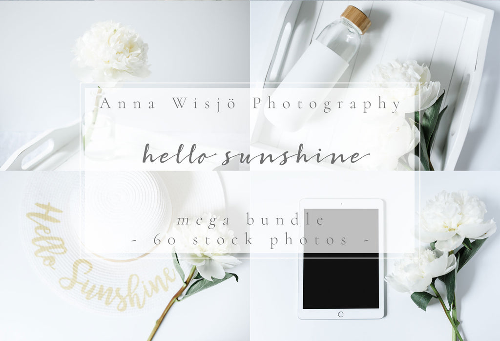 Hello Sunshine stock bundle by Anna Wisjo Stock