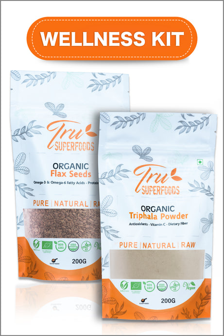 Tru Digestive Health (Wellness Kit) - Triphala & Flax
