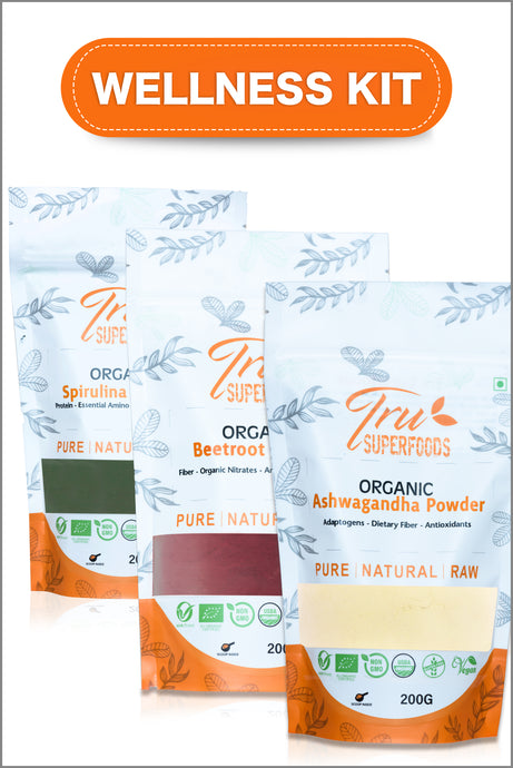 Tru Men's Fitness (Wellness Kit) - Beetroot, Spirulina & Ashwagandha