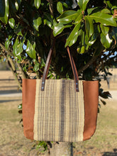 Load image into Gallery viewer, Signature Indigo Barn Tote- Large Handwoven