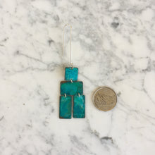 Load image into Gallery viewer, Oxidized Copper Nomadic Earrings