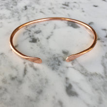 Load image into Gallery viewer, Minimilist Copper Cuff