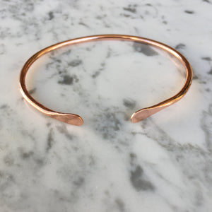 Minimilist Copper Cuff