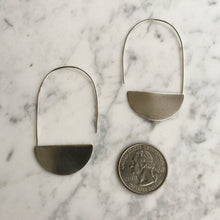 Load image into Gallery viewer, Sterling Silver Luna Earrings
