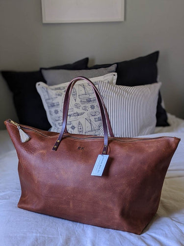 Tumbleweed - Large Leather Weekender