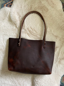 Cowboy Brown - Small Barn Tote