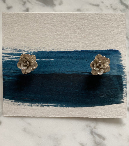 Succulent Studs - Sterling Silver