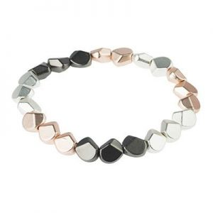 Charming Three Tone Stretch Bracelet