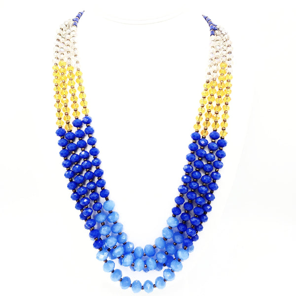 Crystal Colours Statement Necklace