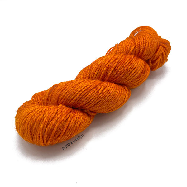 Image of Brassard 2/8 cotton in bright orange.