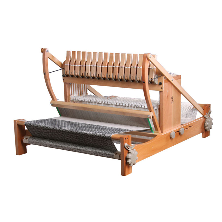 Picture of the Ashford 16 shaft table loom.