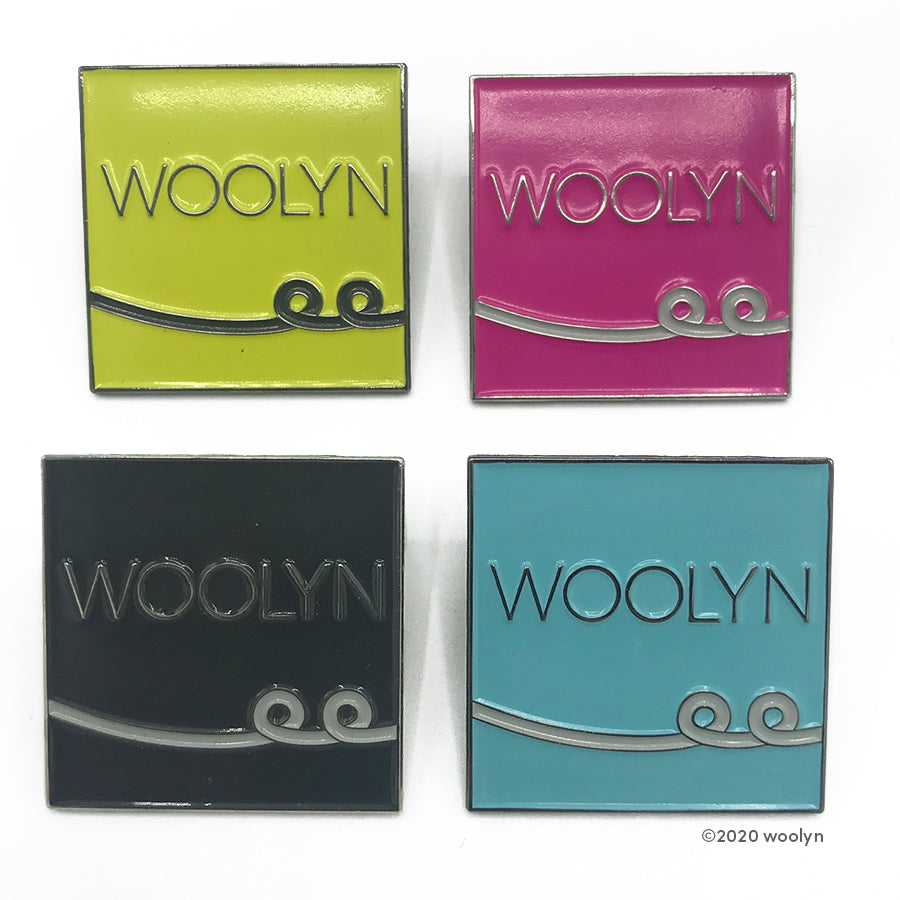 Woolyn Enamel Pin