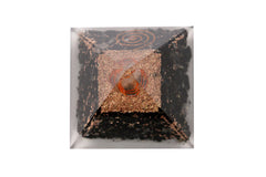 Black Tourmaline Orgone Pyramid