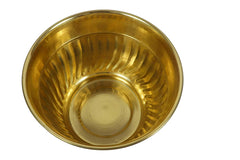Brass Half Prince Planter (Height:7 inches Dia 9.5 inches)