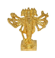 Brass Pachmukhi Hanuman Ji Statue (Height-5 inches)