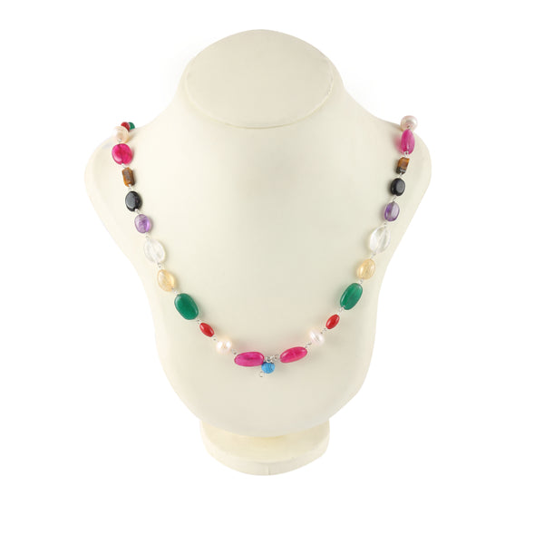 Navratan Necklace