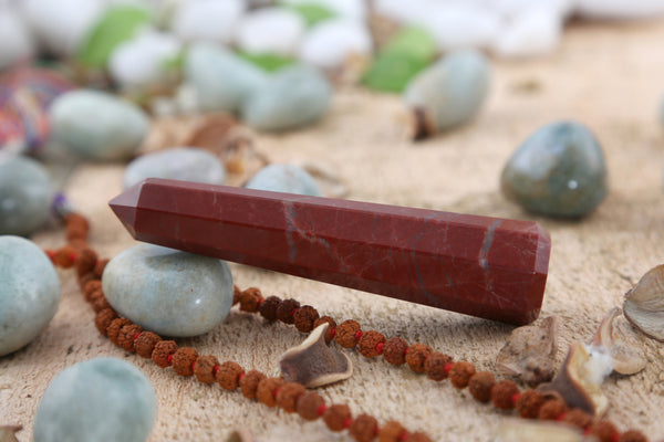 Red Jasper Tower (3-5 Inch)