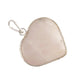 Rose Quartz Pendant in Heart Shape