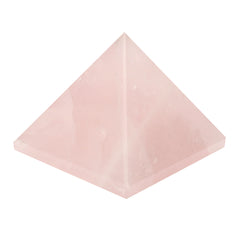 Rose Quartz Gemstone Pyramid For EMF Protection