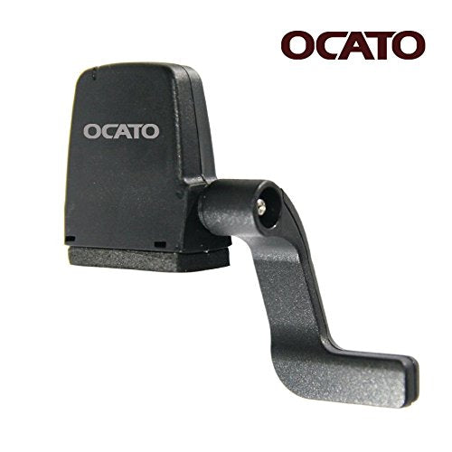 OCATO Fitness Tracker Bike Speed & Cadence Sensor Speedmeter for iPhone and Android Smart Phones (Bluetooth Only)