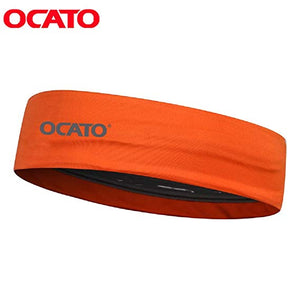OCATO New Design comfortable Sweat Guiding Belt Sports Headband for Fashion, Running, Hiking, Cycling, Badminton, Tennis Yoga or Travel