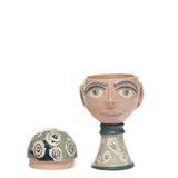 Ceramic Light Green Head