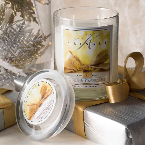 Gold & Cashmere Candle, Medium