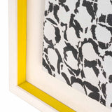 Yellow Bubbles Fabric Frame
